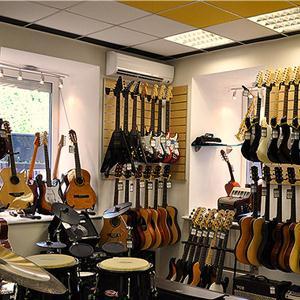 Музыкальные магазины Луха